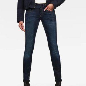 G-Star Lynn mid waist skinny jeans 28/32